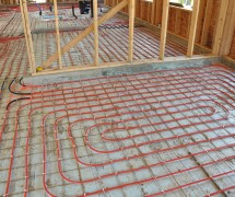 Hydronic Floor Heat