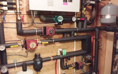 Air to Water Heat Pump Retrofit