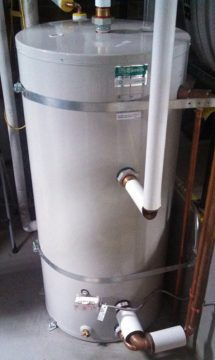 New DHW Storage Tank