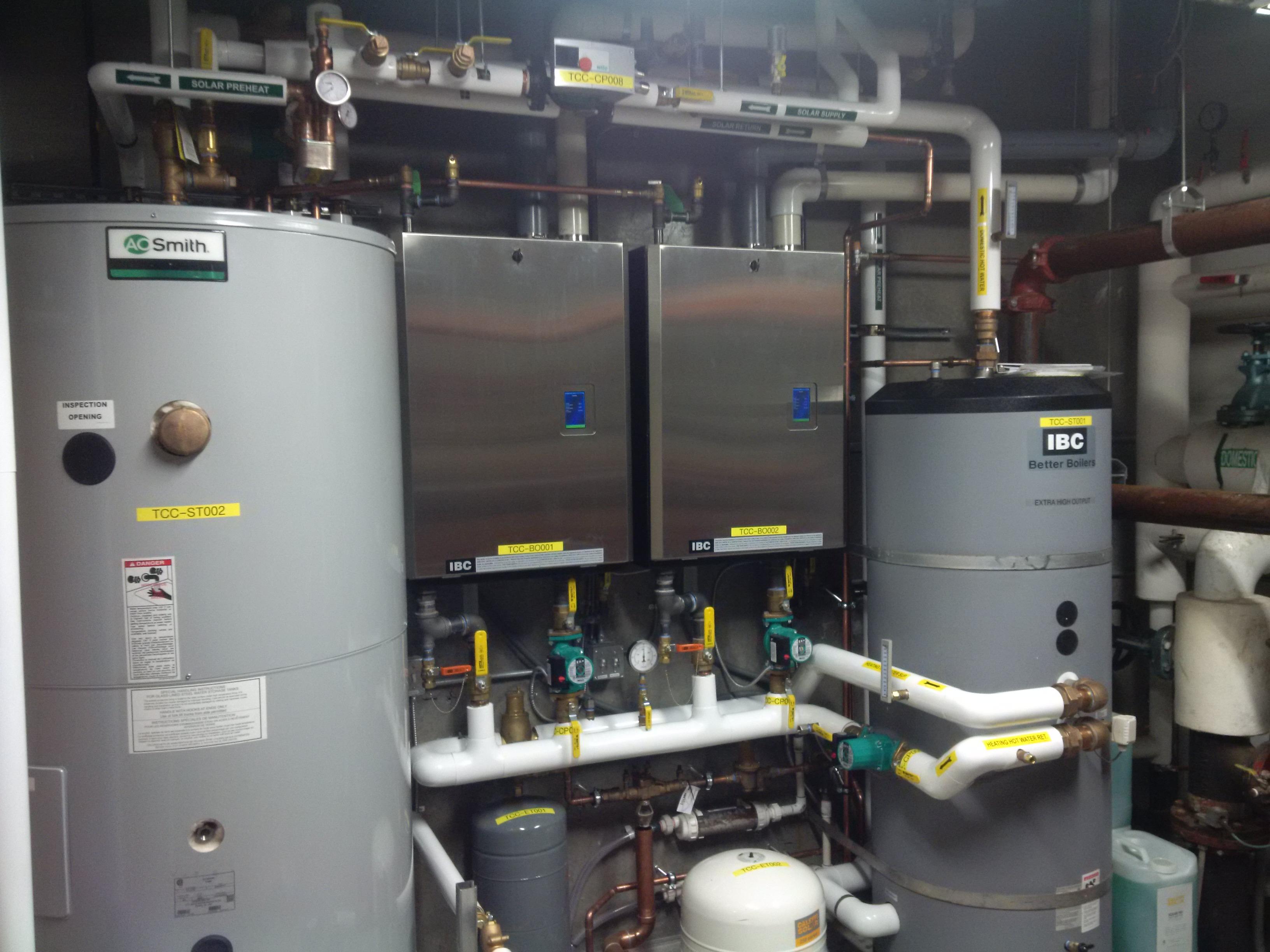 Solar and Boiler Community Center Retrofit | Stage 3 Renewables